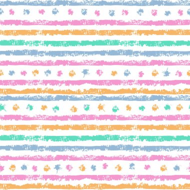 shabby stripes seamless pattern