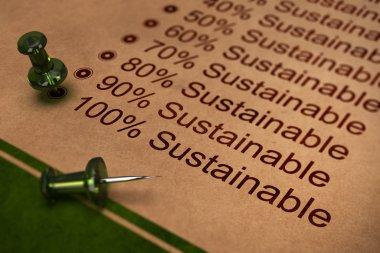 Fully Sustainable, Improving Sustainability