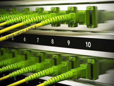 Network Infrastructure, Fiber Optics Connections