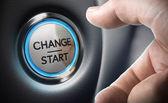 Fotografie Change Decision Making Concept