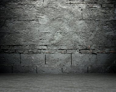 Old street wall background, texture