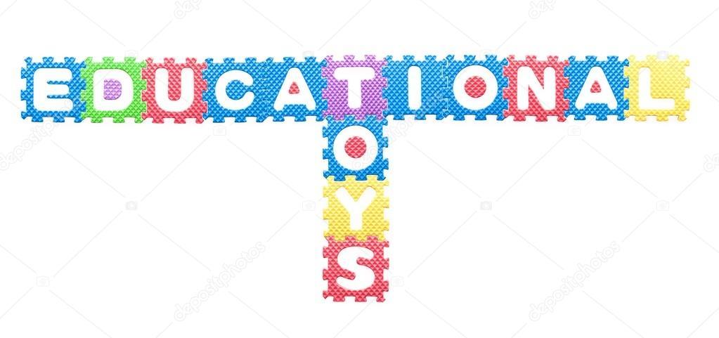 cartas de colores, juguetes educativos para niños — Fotos de Stock ...