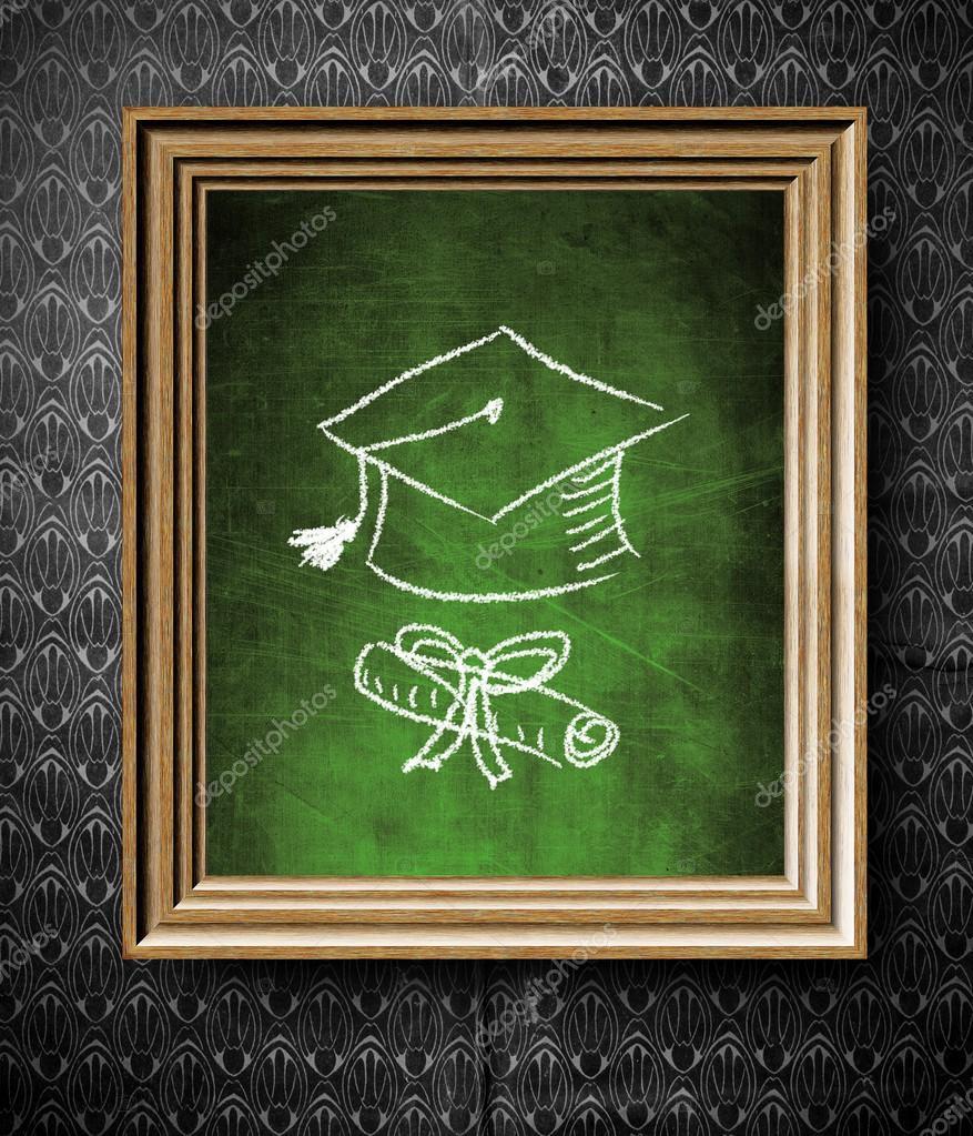 Fotos Descargar Marcos De Graduacion Para Pizarra De Tapa Y