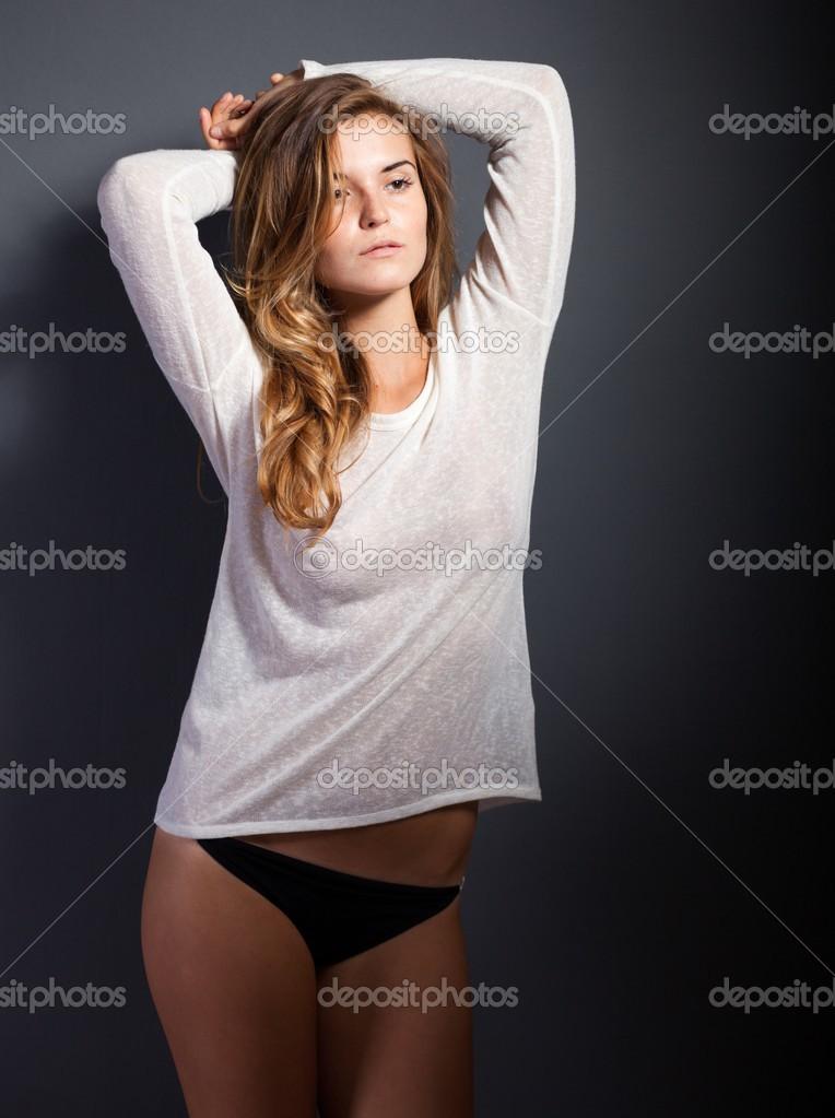 Mulher branca gostosa