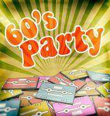 Fotografie 60er Jahre Musik Party Vintage Poster Design. Retro-Konzept