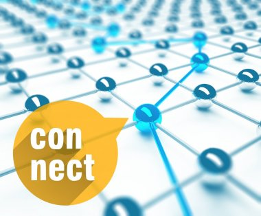 Connect conception of network and communication