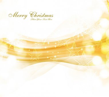 merry christmas celebration colorful wave card background vector