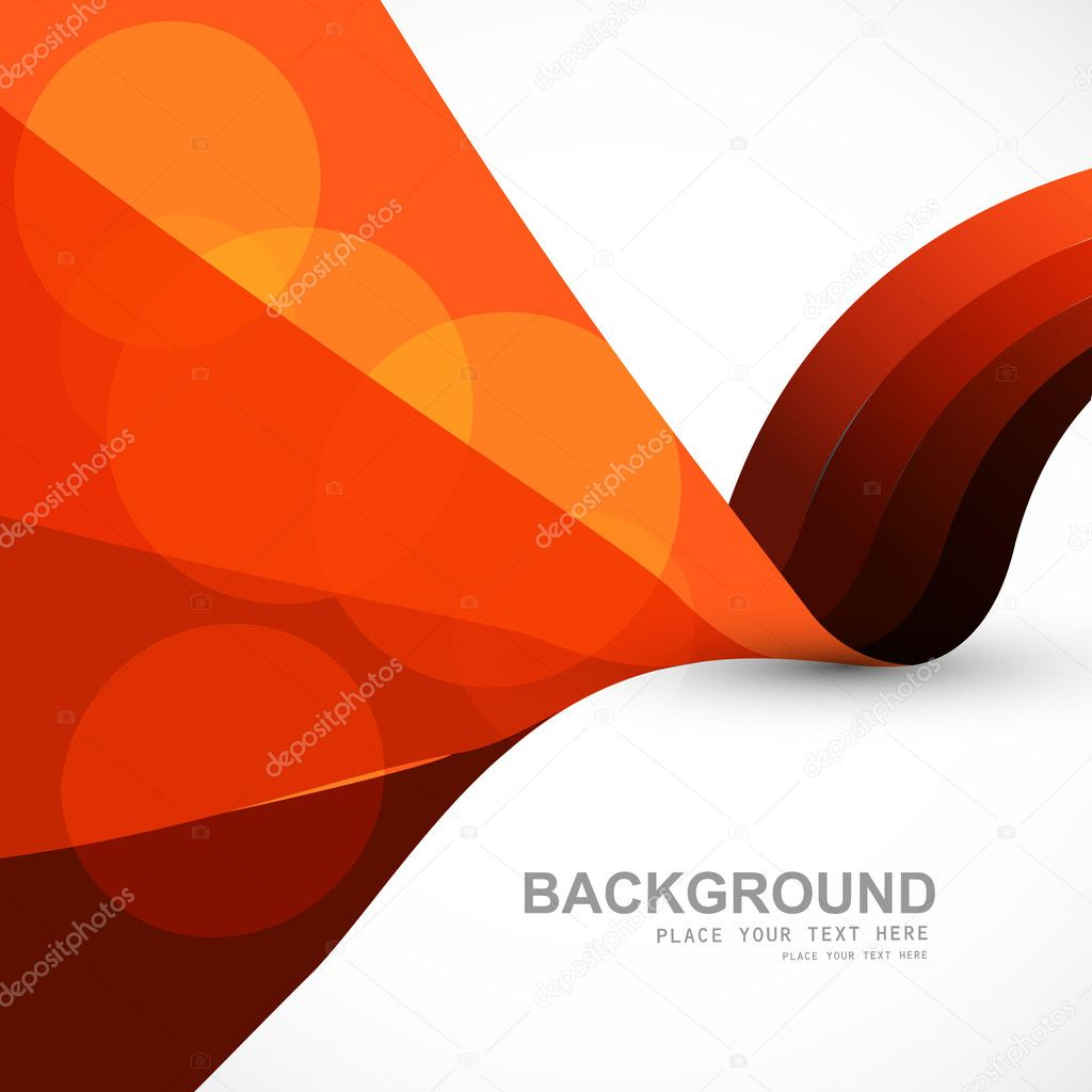 Abstract stylish colorful wave vector background illustration