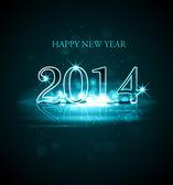 Oslava nového roku 2014 barevné pozadí obrázku