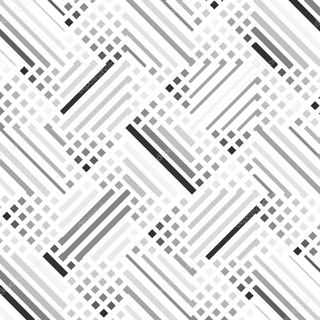 Vector seamless pattern stylish modern texture repeating geometr