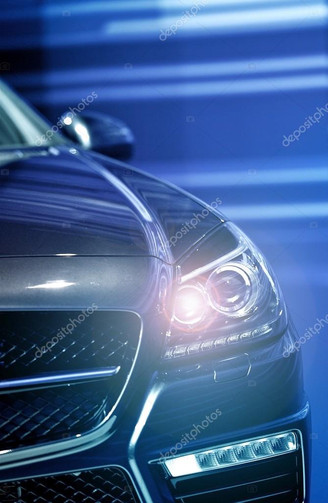 Headlight On Vehicle