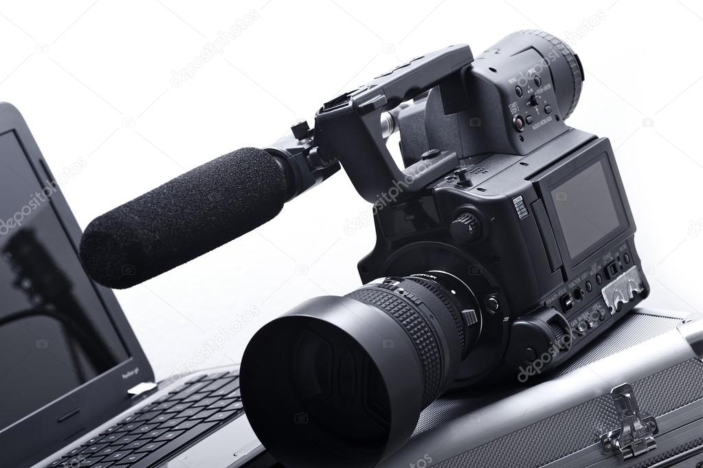 Camera with Microphone
