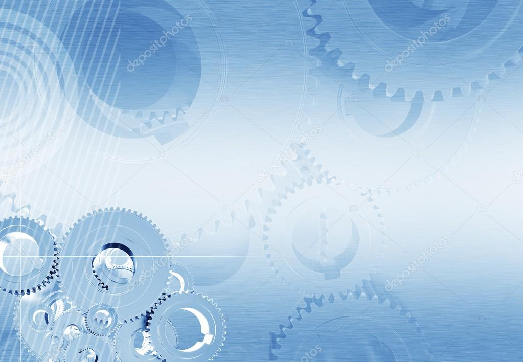 Industrial Blue Background