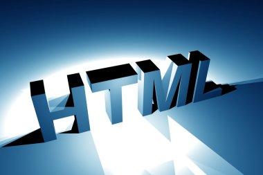 HTML 3D Illustration