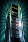 szerverek torony
