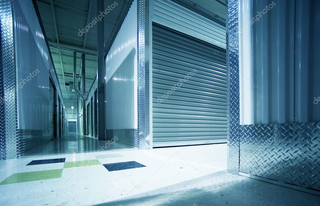Storage Units Hallway