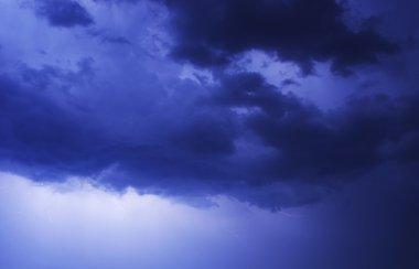 Stormy Blue Sky