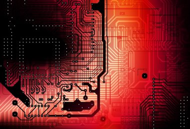 Circuit Board Backdrop