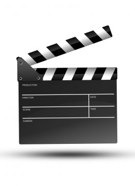 Movie Clipper Isolated