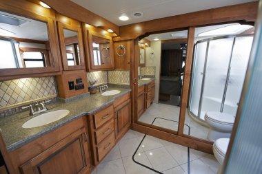 Luxury RV Bathroom
