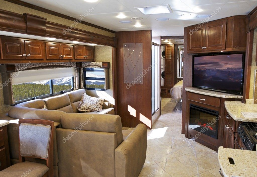 Modern Rv Interior Stock Photo 169 Welcomia 42577275