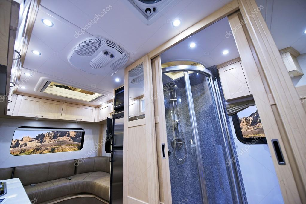 Motorhome Interior U2014 Stock Photo