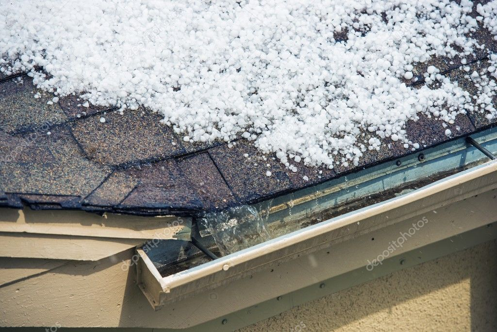 Hail on the Roof