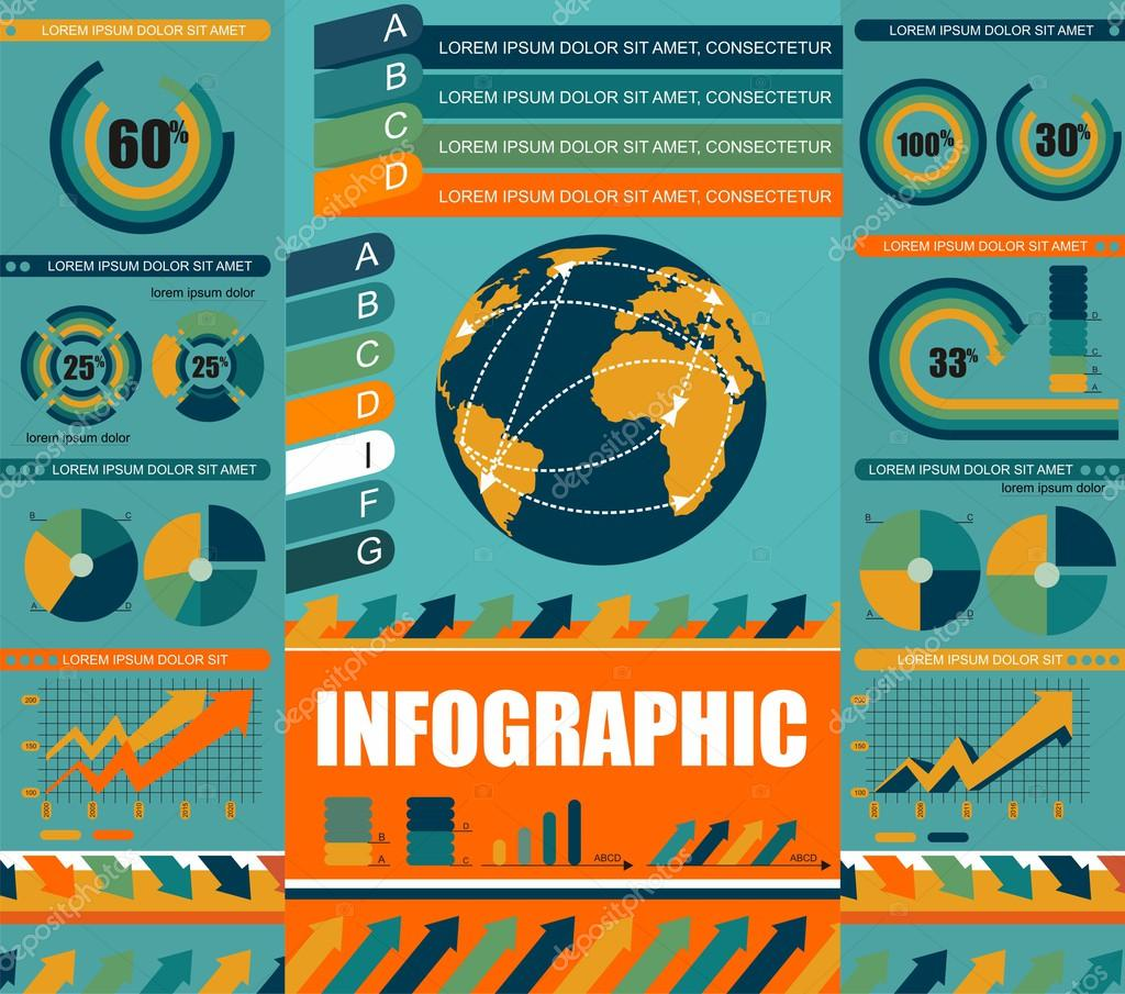 Infographics elements of design