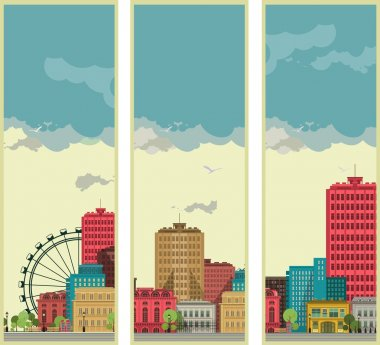 Banners set streetscapes