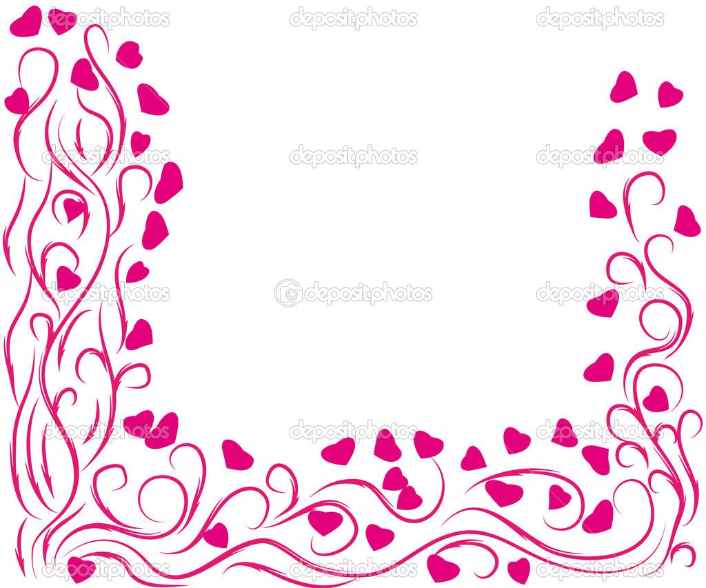 marco st.valentines día — Vector de stock © Marina_irbis #15061683