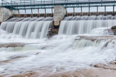 McGowan Falls in Grey County of Durham, Ontario, Canada