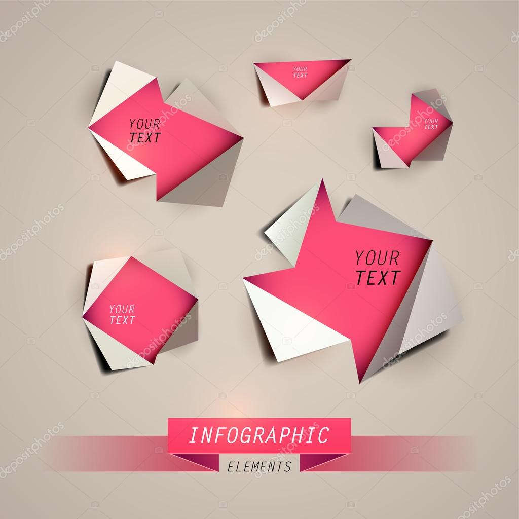 Vector Design template. Infographics element