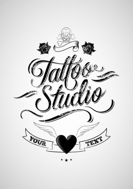 Tattoo studio.