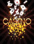 Fotografie Casino abstraktní pozadí