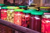 Fényképek pácolt konzerv zöldségek