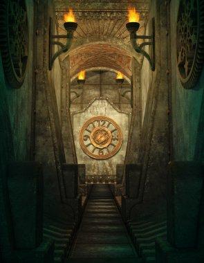 Time Passage, 3d CG
