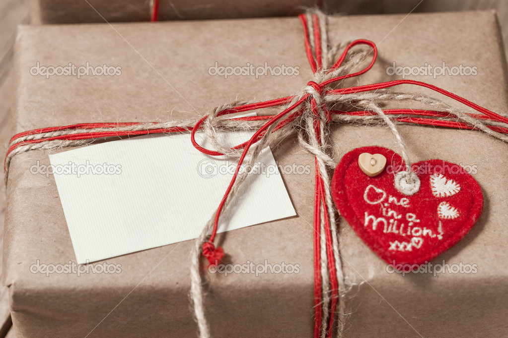 Vintage Geschenk-box — Stockfoto © johan-jk #19163683