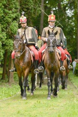 Hungarian hussar show