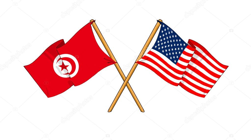 America And Tunisia Alliance And Friendship Stock Photo C Rolfik 12498307