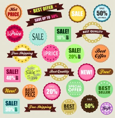 Tags of promotion and discount