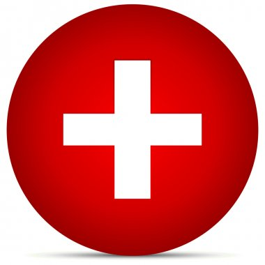 Red Cross in Circle