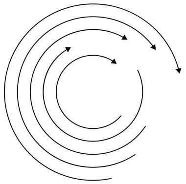 Circular Arrows concept