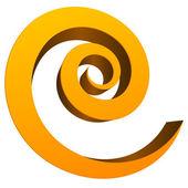 Fotografia elemento circolare a spirale