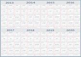Nový rok 2013, 2014, 2015, 2016, 2017, 2018, 2019, 2020 kalendáře