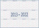 Nový rok kalendáře