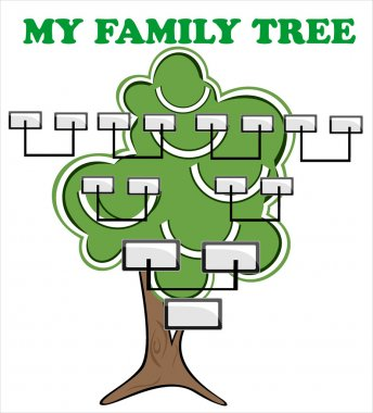 Concept illustration: family tree.