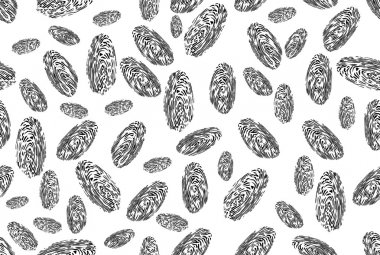 Seamless background of a finger print