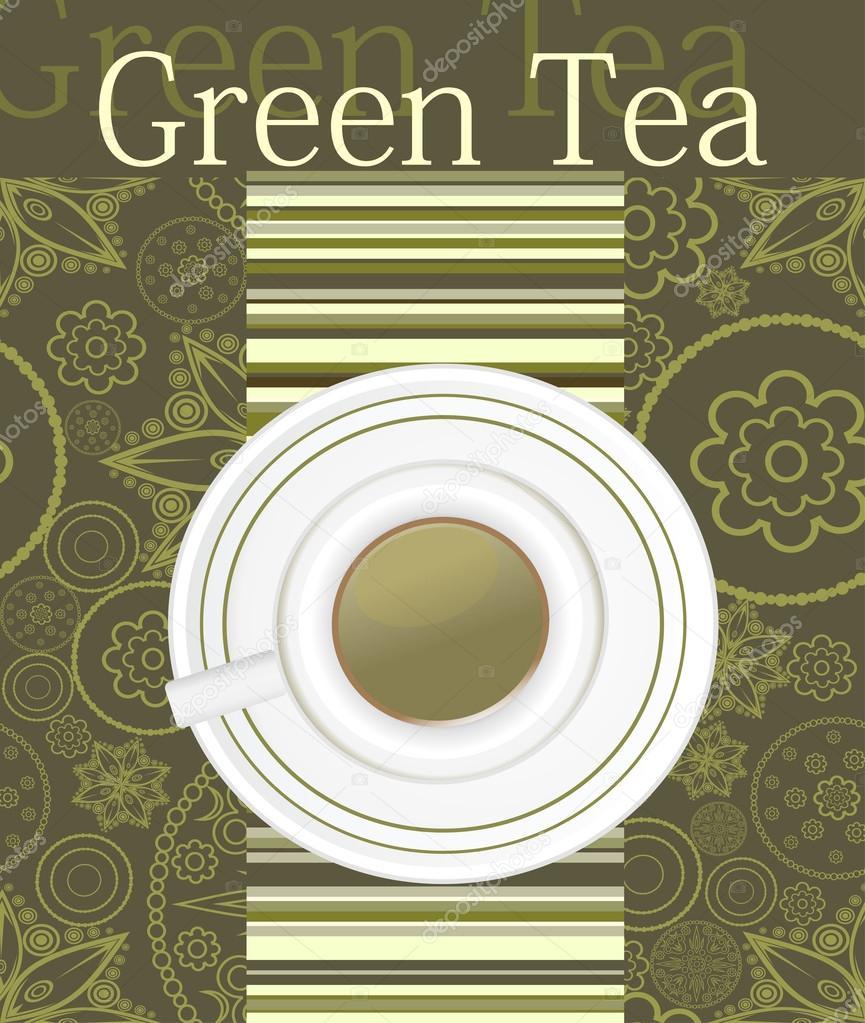 Чай зелёный  калорийность полезные свойства польза и