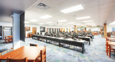HDR of Interior Classroom