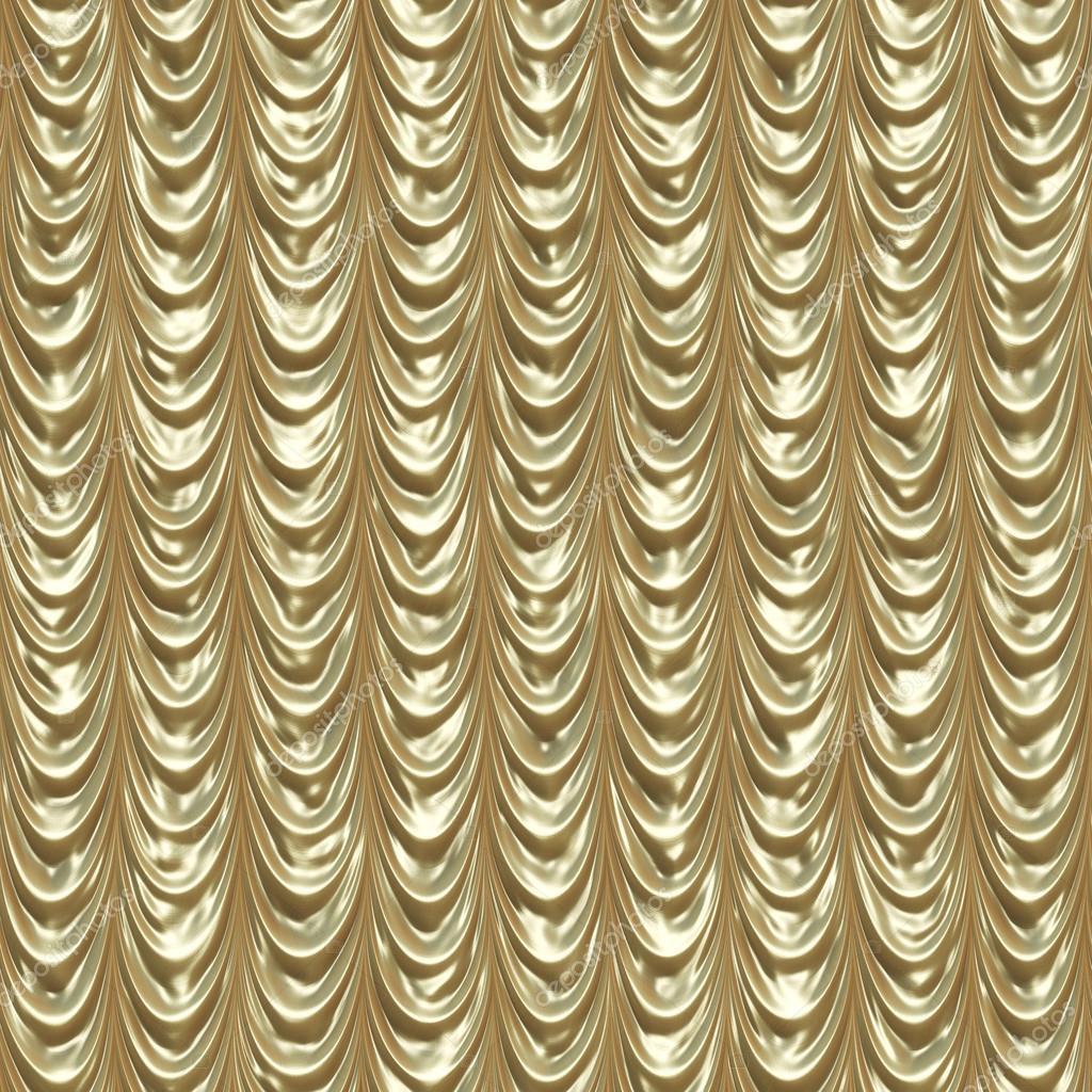 Golden Draped Curtains U2014 Stock Photo #24034313